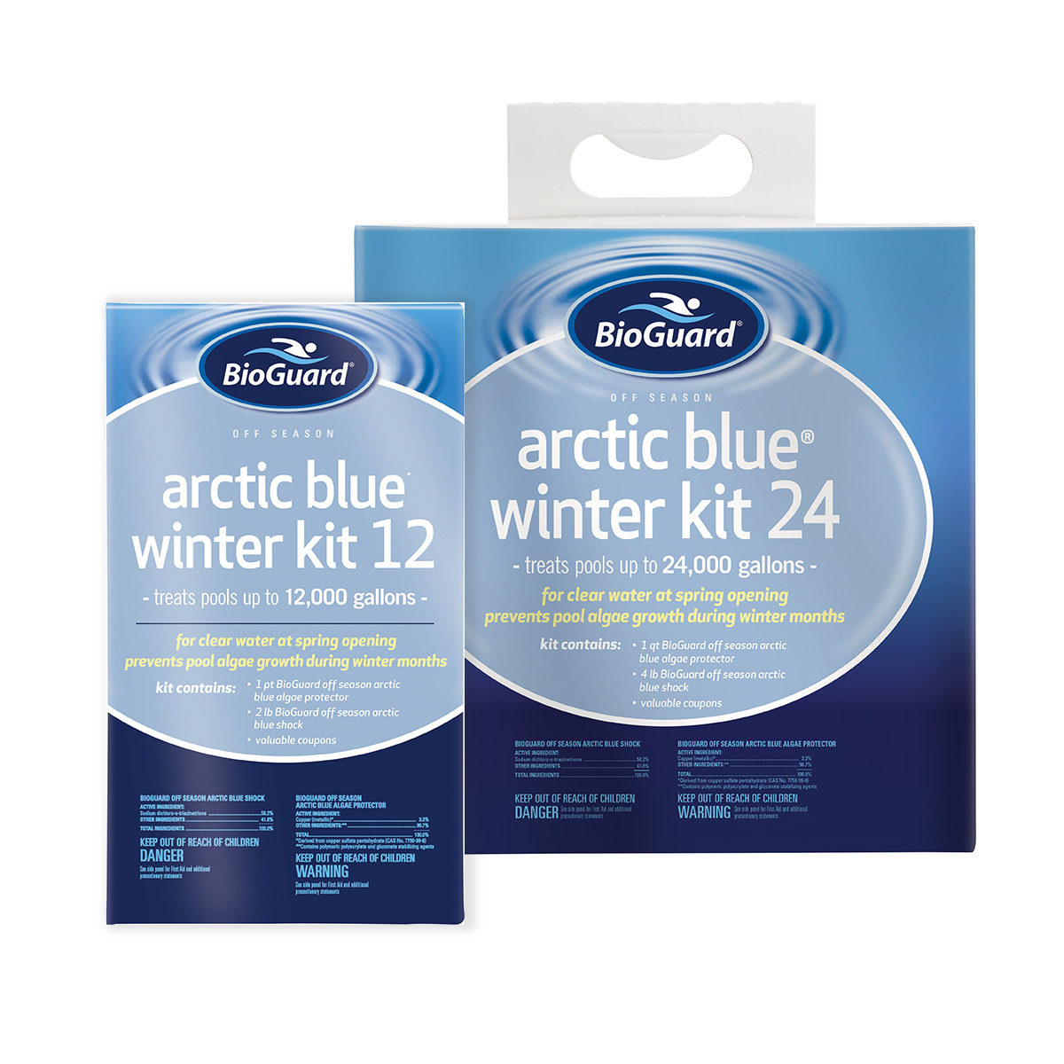 Arctic blue winter kits garden spas pool for Garden spas pool germantown tn