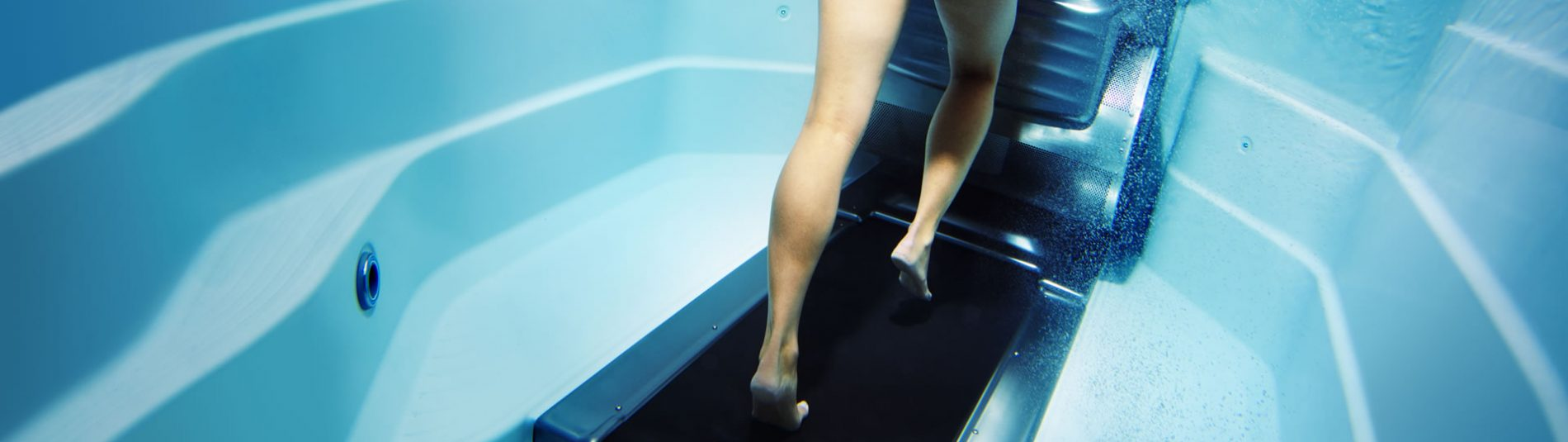 Underwater treadmill garden spas pool for Saltwater endless pool