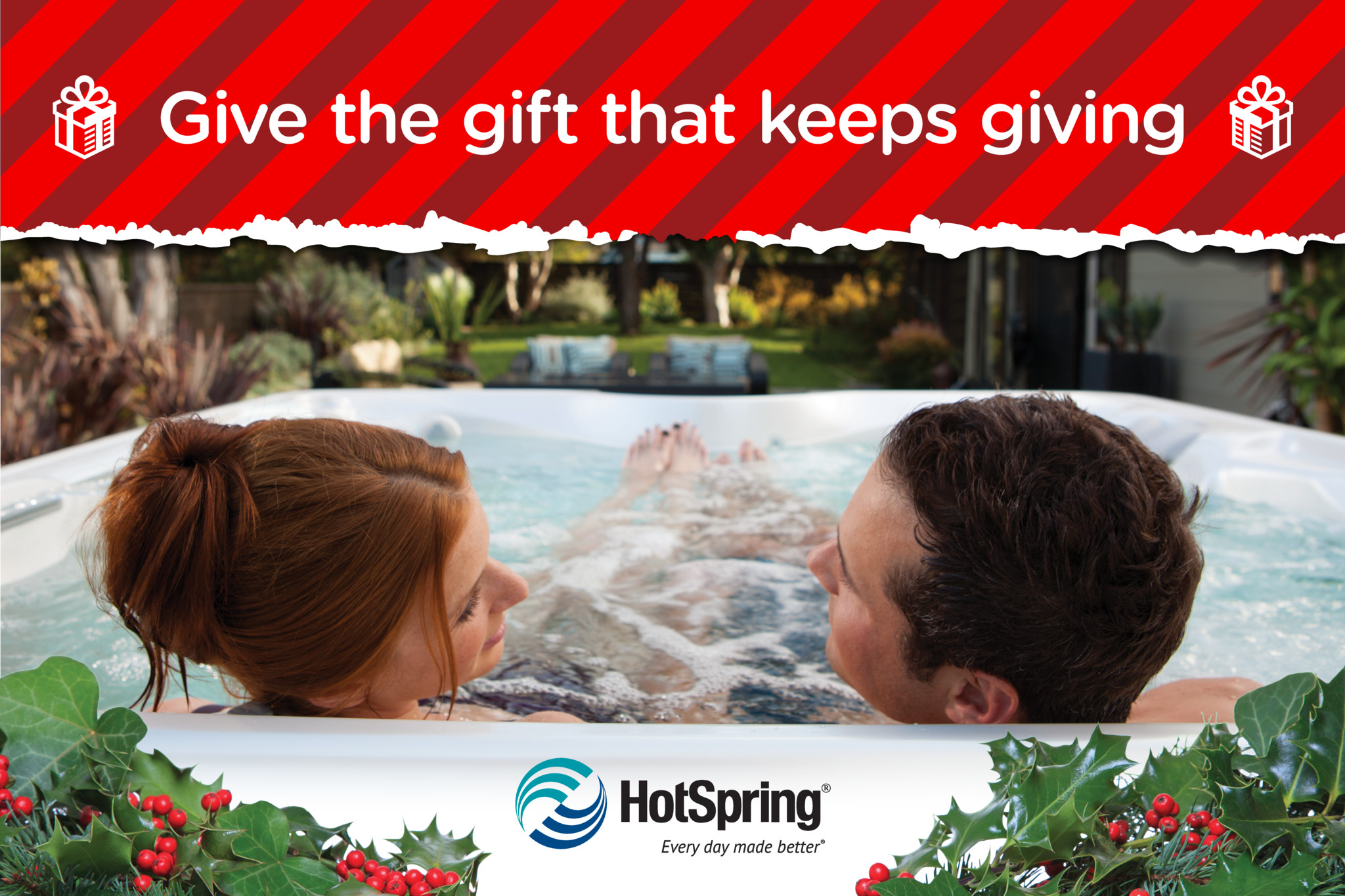 Xmas Holiday Hot Tub Event