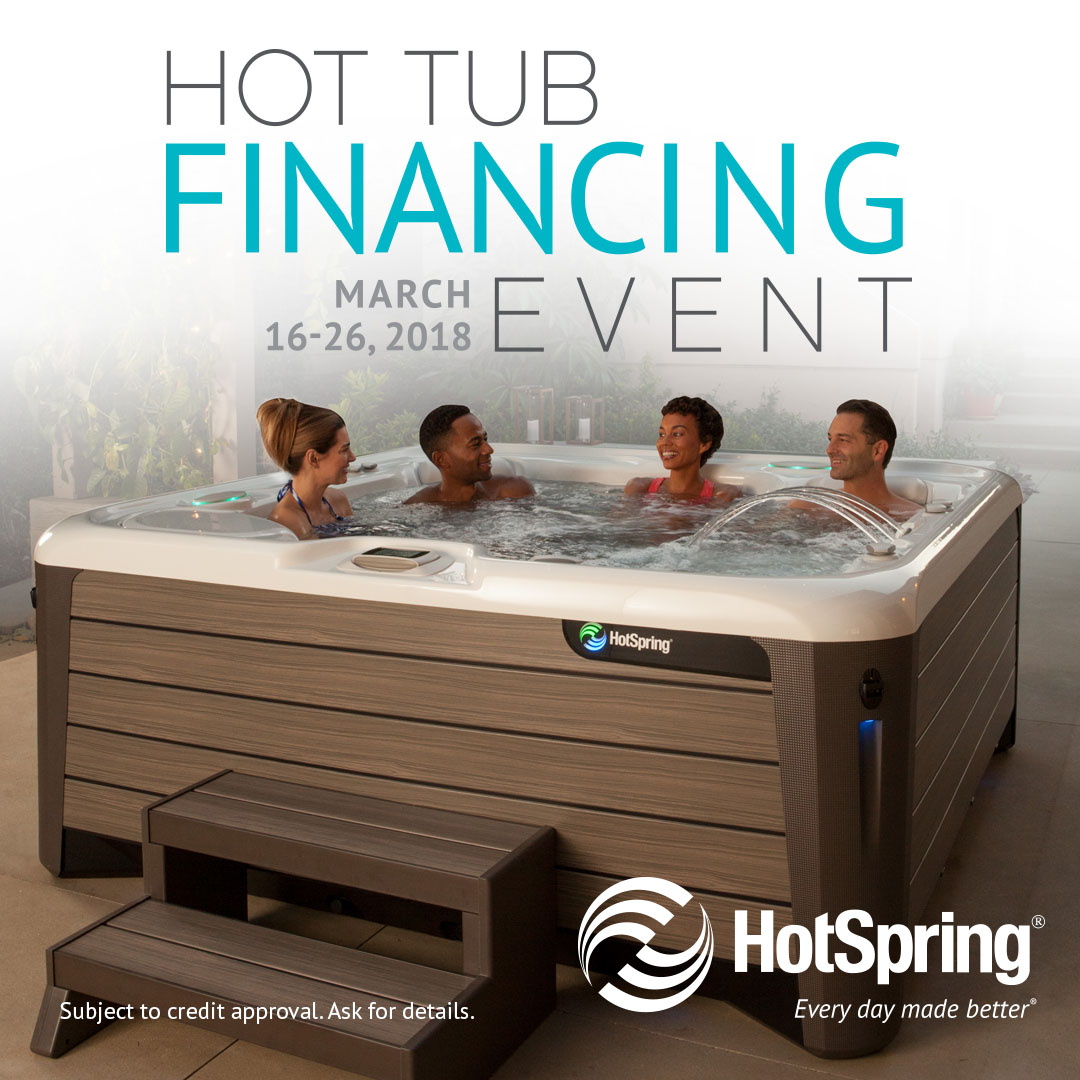 Special Hot Tub Home Show Pricing!