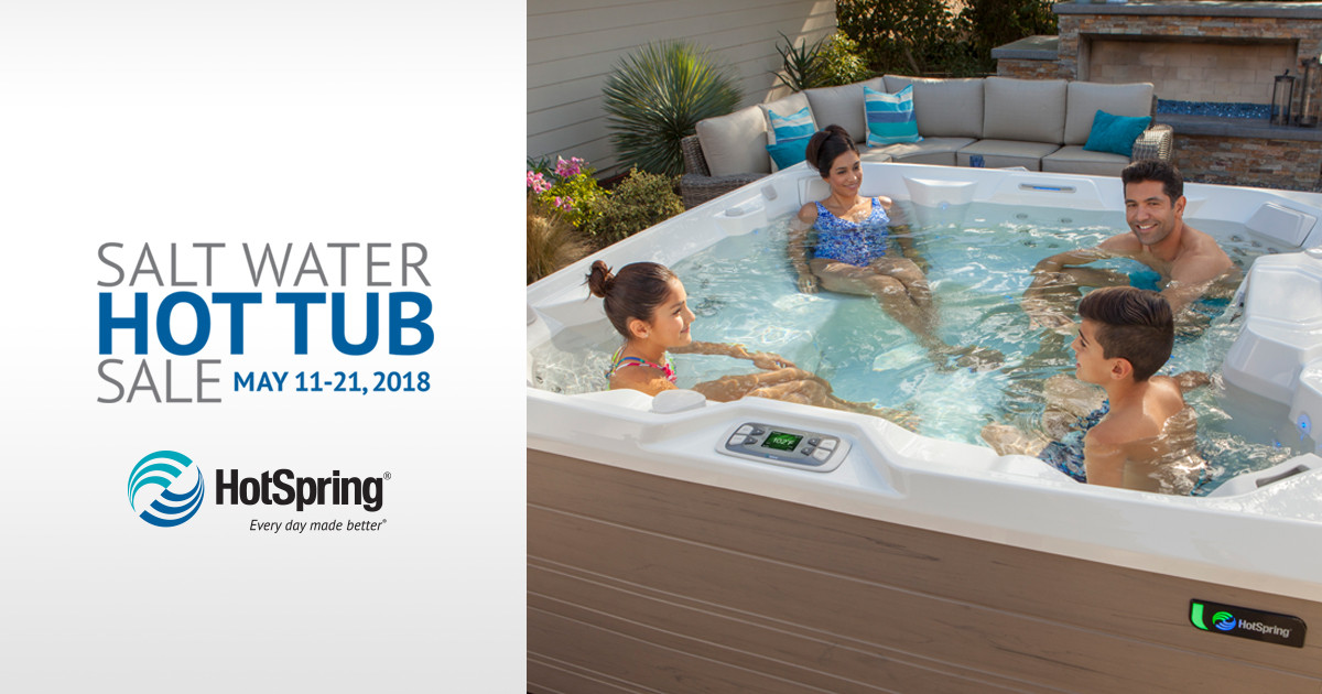 Free ACE Salt System with Purchase of Hot Tub!